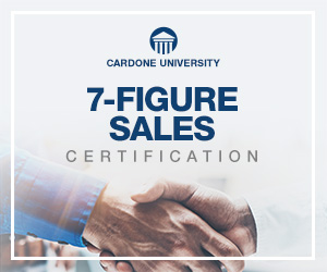 7 Figures Sales Certification - Grant Cardone