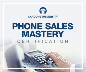 Phone Sales Mastery Certification
